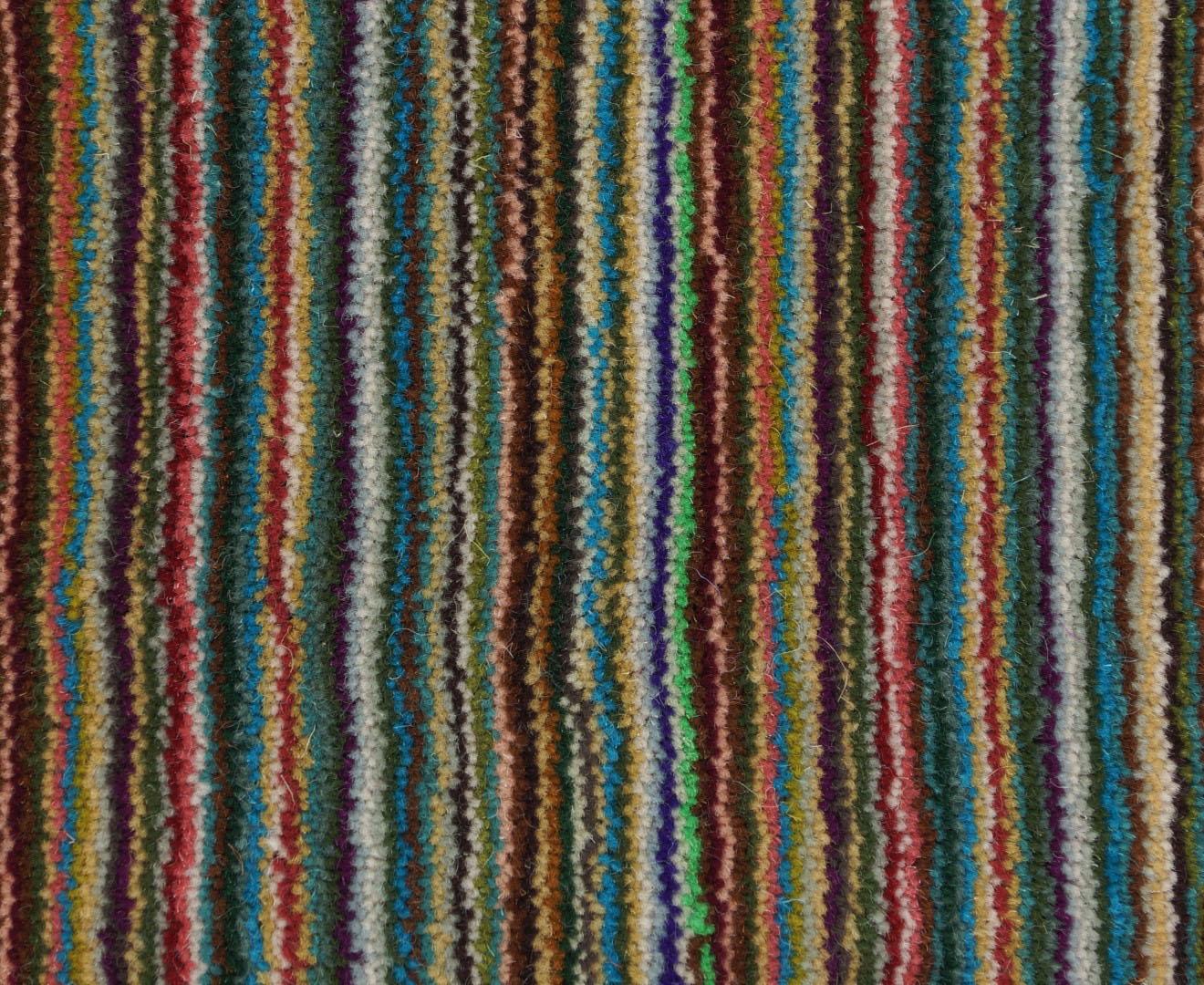 Moquette tiss e 100 laine unie structur e ray e milres azur collection textile dessins for Moquette rayee