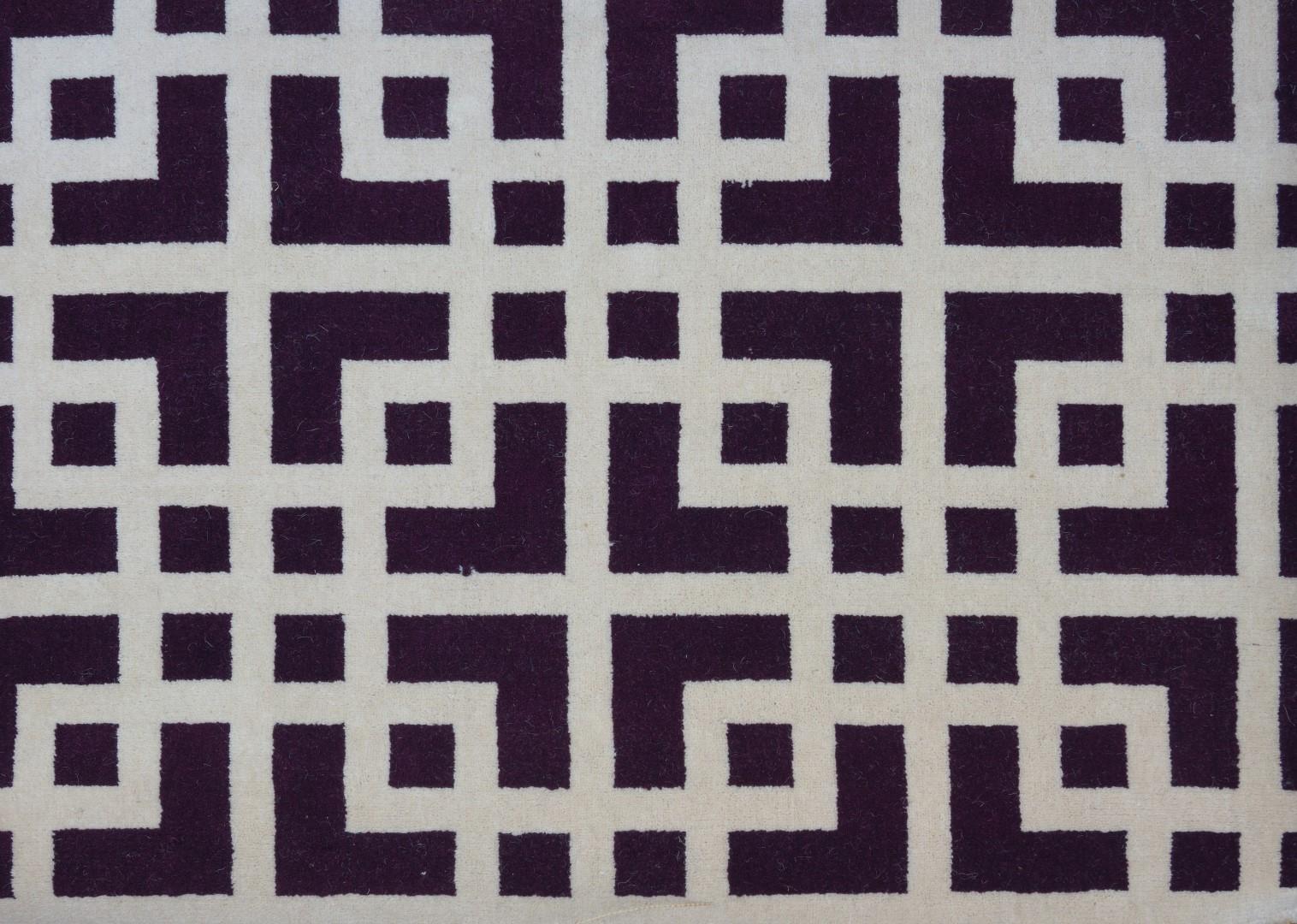 Moquette tiss e 80 labyrinthe aubergine collection for Moquette grand passage