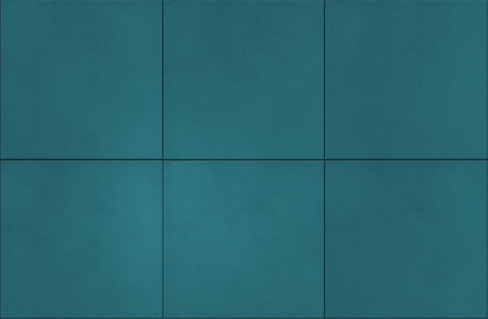 Carreaux de ciments unis colorisation bleu canard b4 for Bleu canard fonce